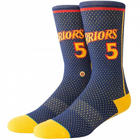 Носки STANCE NBA ARENA WARRIORS 04 HWC FW19 от Stance в интернет магазине www.b-shop.ru - 1 фото