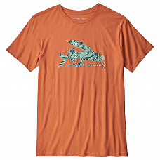 Футболка PATAGONIA M'S FLYING FISH ORGANIC T-SHIRT SS19 от PATAGONIA в интернет магазине www.b-shop.ru