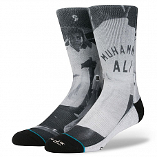 Носки STANCE ANTHEM LEGENDS MUHAMMAD ALI FW от Stance в интернет магазине www.b-shop.ru