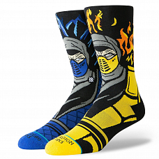 Носки STANCE FOUNDATION SUB ZERO VS SCORPION FW20 от Stance в интернет магазине www.b-shop.ru